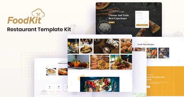 Restaurant Template Kit