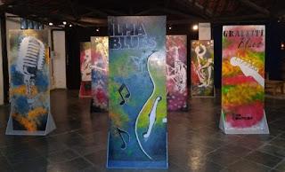 Exposição de Graffiti sobre Blues acontece no Espaço Cultural Plínio Marcos