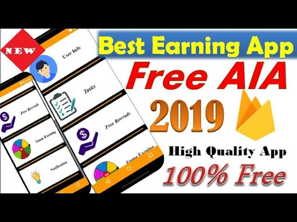 High quality earning app free aia file kodular