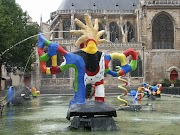 La fontana Stravinsky di Parigi
