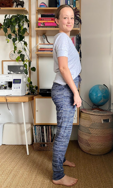 Diary of a Chain Stitcher: Papercut Anima Pants and SJ Tee in Jersey Knit from The Fabric Store