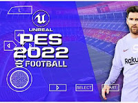 PES 2022 Android PPSSPP Full Promotion Team English Commentary & New Kits 2021/22