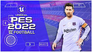 Download PES 2022 Android PPSSPP Full Promotion Team English Commentary & New Kits 2021/22