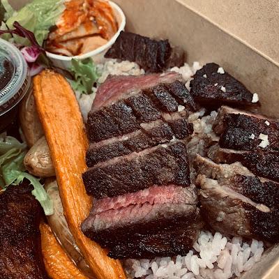 O'Kim's Korean Kitchen - Kal Bi Steak