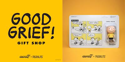 San Diego Comic-Con 2019 Exclusive Peanuts ReAction Retro Action Figures & Snoopy Vinyl Figure by Super7
