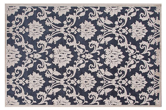 Blue and White Rug from Home Decorators | 20 Classic Style Rugs for Any Budget at www.andersonandgrant.com