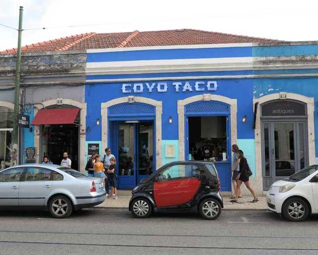 Coyo Taco, Principe Real, Lisbon