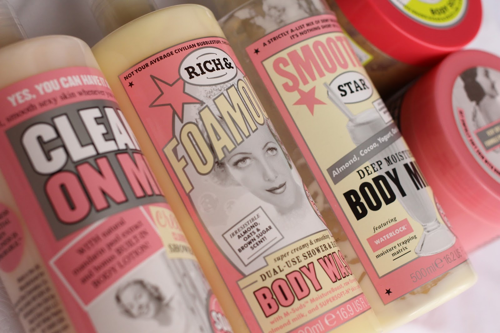 Soap and Glory products