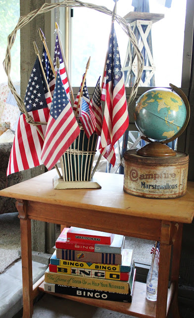 July 4th Decor Ideas- Itsy Bits And Pieces Blog