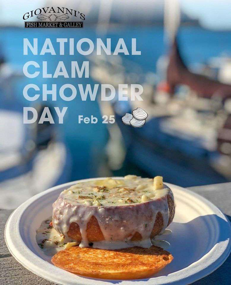 National Clam Chowder Day Wishes for Instagram