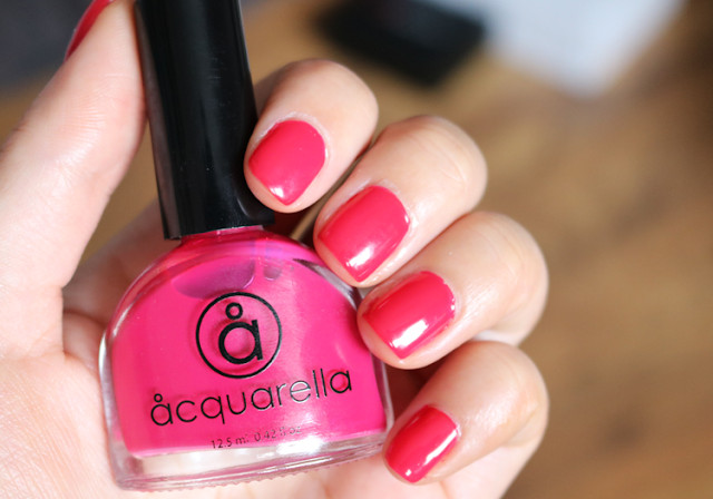 Acquarella Nail Polish in Girly review swatches