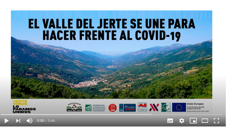 VIDEO RESISTIREMOS VALLE DEL JERTE