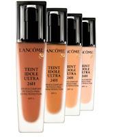 Muestras gratis de la base de maquillaje Lancome Teint Idole