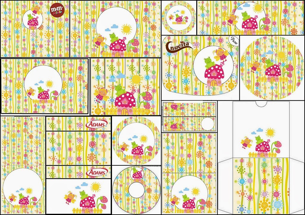 Enchanted Garden Free Printable Candy Bar Labels Oh My