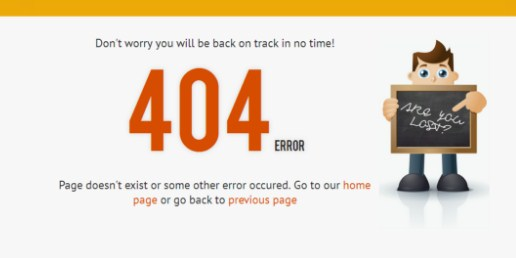 Go To Homepage >> Redirect 404 Error Pages To Homepage In Blogger 404 Error My