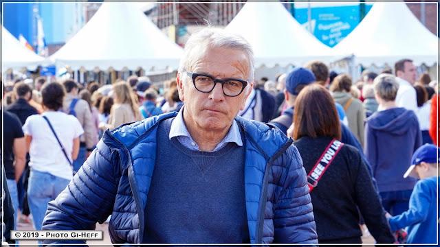 Pascal Martin, Président du Conseil départemental de Seine Maritime