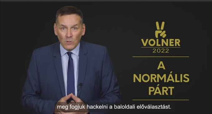Elismerte: Volner János hekkeli az előválasztást