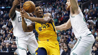 Jazz Kalahkan Celtics di TD Garden