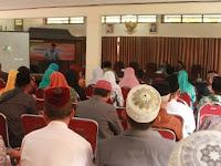 Kantor Kemenag  Tulungagung Selenggarakan Pembinaan Manajemen Masjid