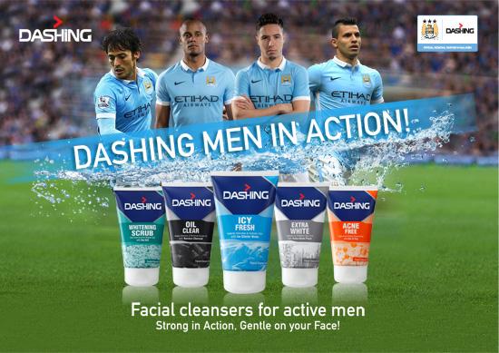 Dashing MCFC Khusus Untuk Lelaki Aktif