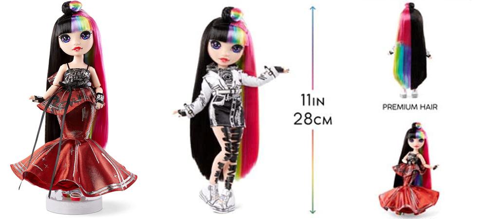 Collector doll Rainbow High 2021 Jett Dawson