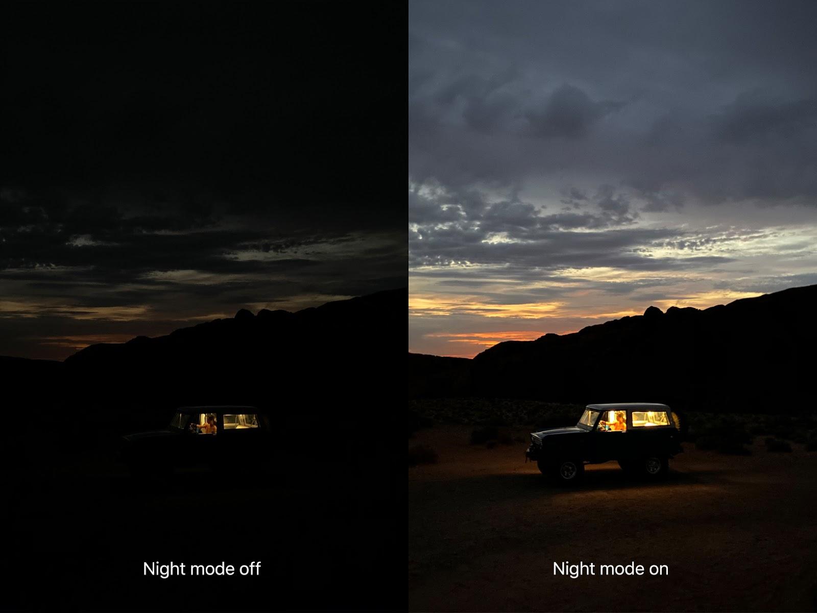 iPhone 11 夜拍