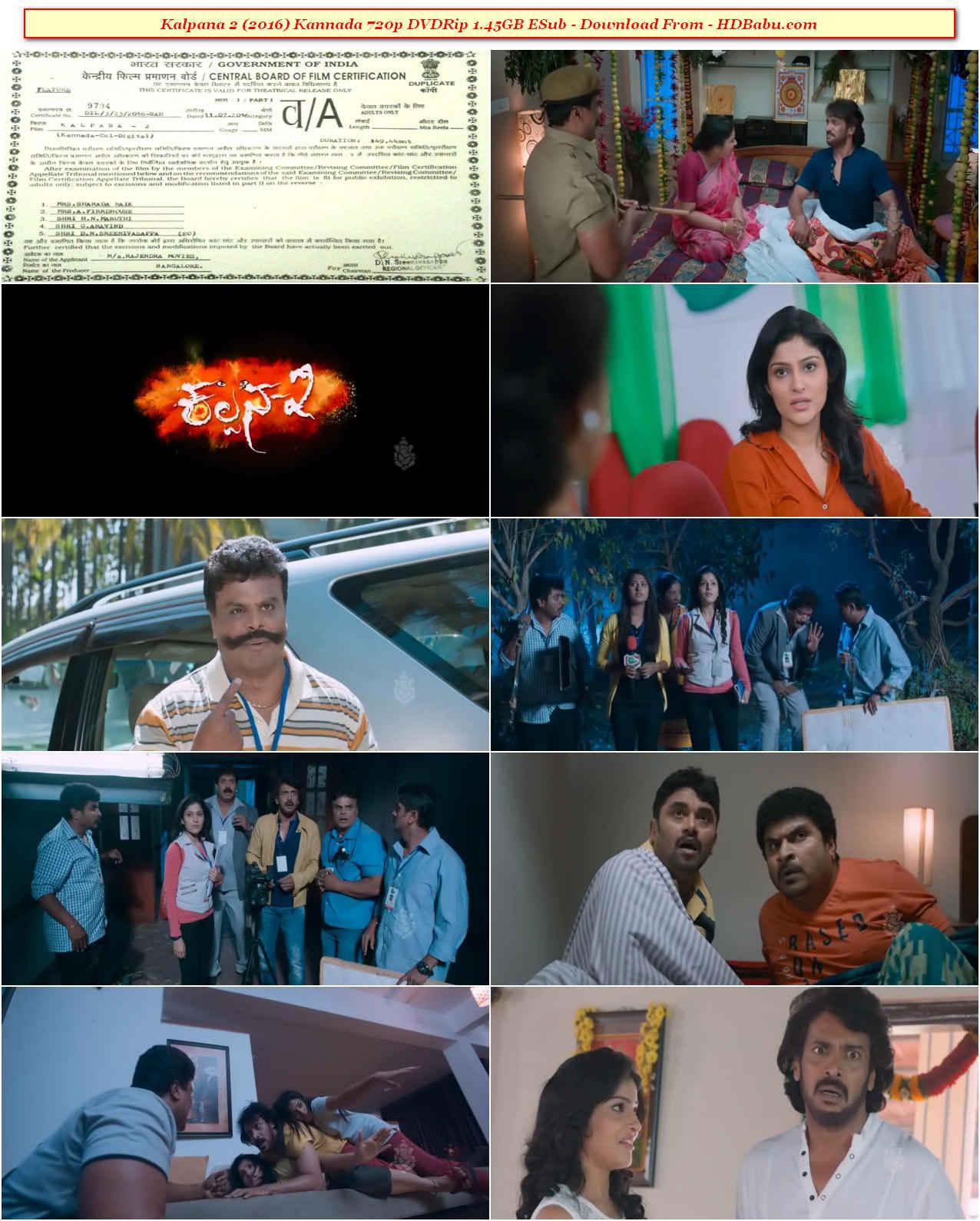 Kalpana 2 Kannada Full Movie Download