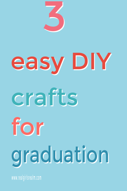 3 Easy DIY crafts for Graduation using Cricut