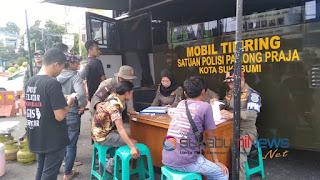 puluhan PKL terjaring operasi satpol pp