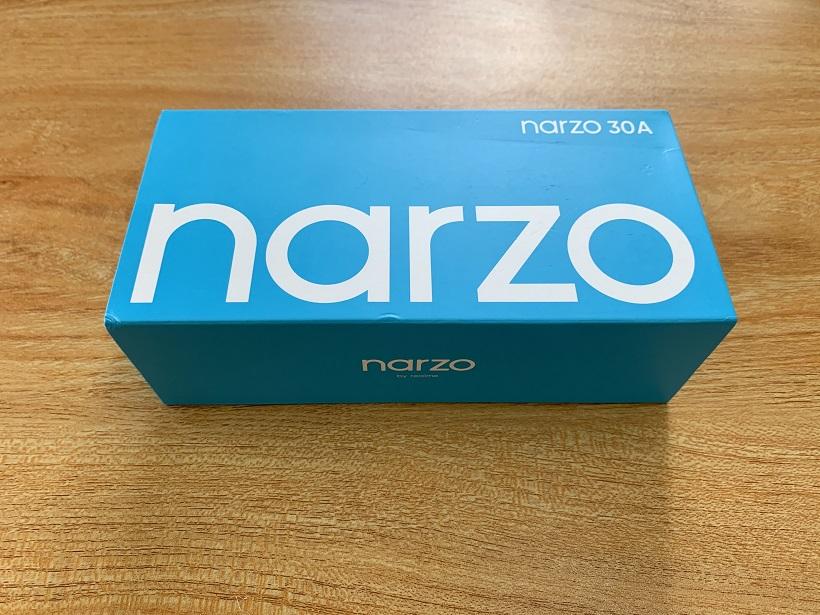 realme narzo 30A Unboxing