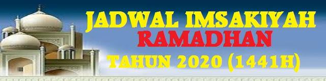 Jadwal Buka Puaasa dan Imsak Ramadhan Tahun 2020 (1441 H)