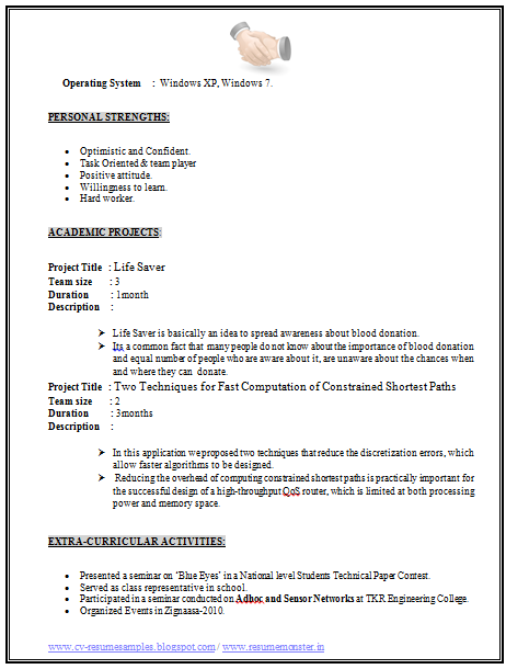 Example%2Bof%2BResume%2BFormats%2B(Page%2B2) One Page Resume Format Pdf Free Download on