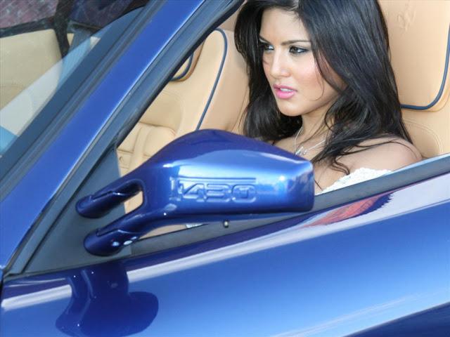 sunny leone cars
