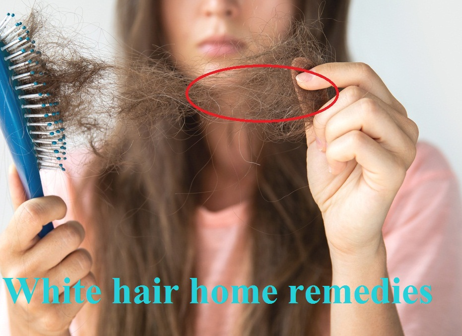 सफेद बाल होने के कारण क्या है