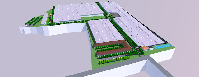 site plan industrial