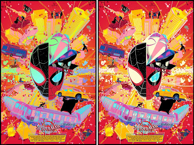 Spider-Man: Into the Spider-Verse Screen Print by Raid71 x Grey Matter Art