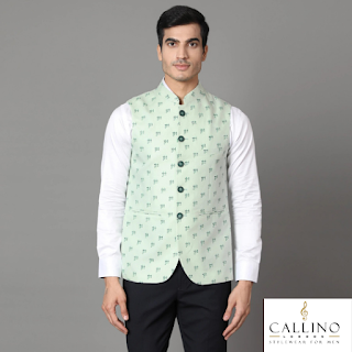 buy stylish waistcoat men, branded waistcoat men online india