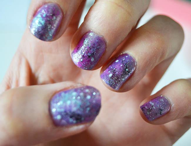 A Matter Of Style: DIY Fashion: Galaxy nail manicure DIY