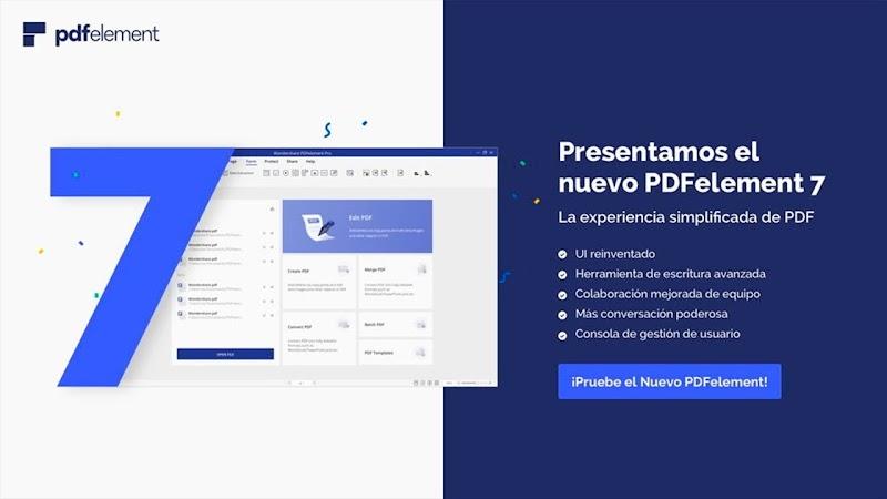 Descargar Wondershare PDFelement Pro 7.3.4.4627 Software editor de PDF [MEGA]