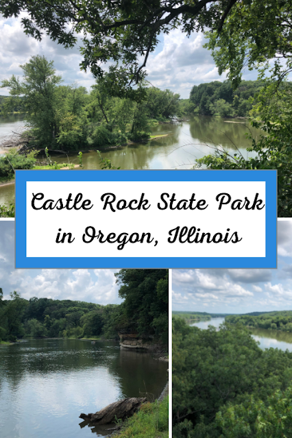 Castle Rock State Park in Oregon, Illinois Delights with Rock Formations, River Views and Rolling Trails