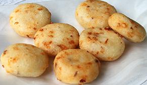 Arepas de queso
