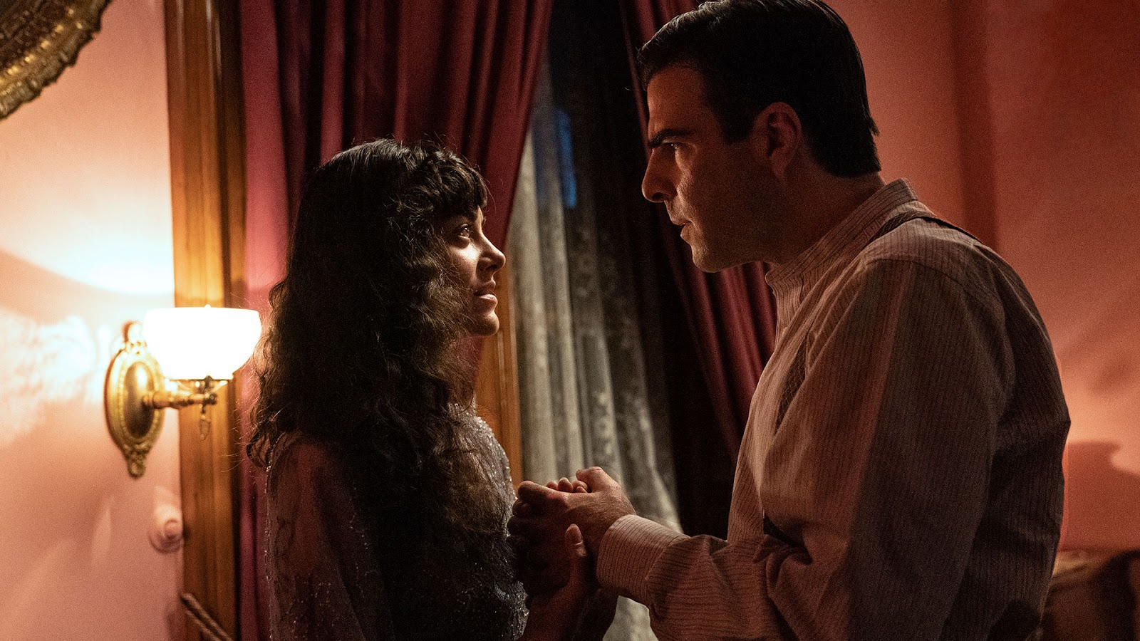 Celeste Arias and Zachary Quinto are Cassie and Charlie Manx | NOS4A2 Good Father | NOS4A2 season 2 episode 2