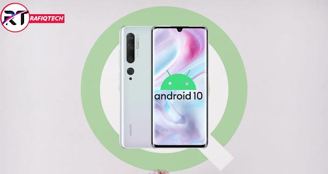 تحديث android 10 لهاتف شاومي مي نوت 10 Mi Note [تحديث مستقر]
