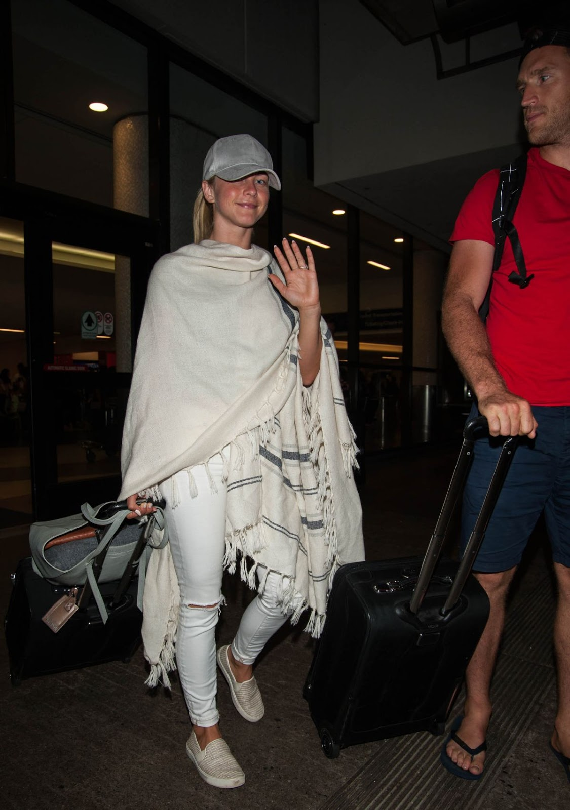 Photos of Julianne Hough at Lax Airport in Los Angeles