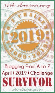 I survived the 2019 A to Z!