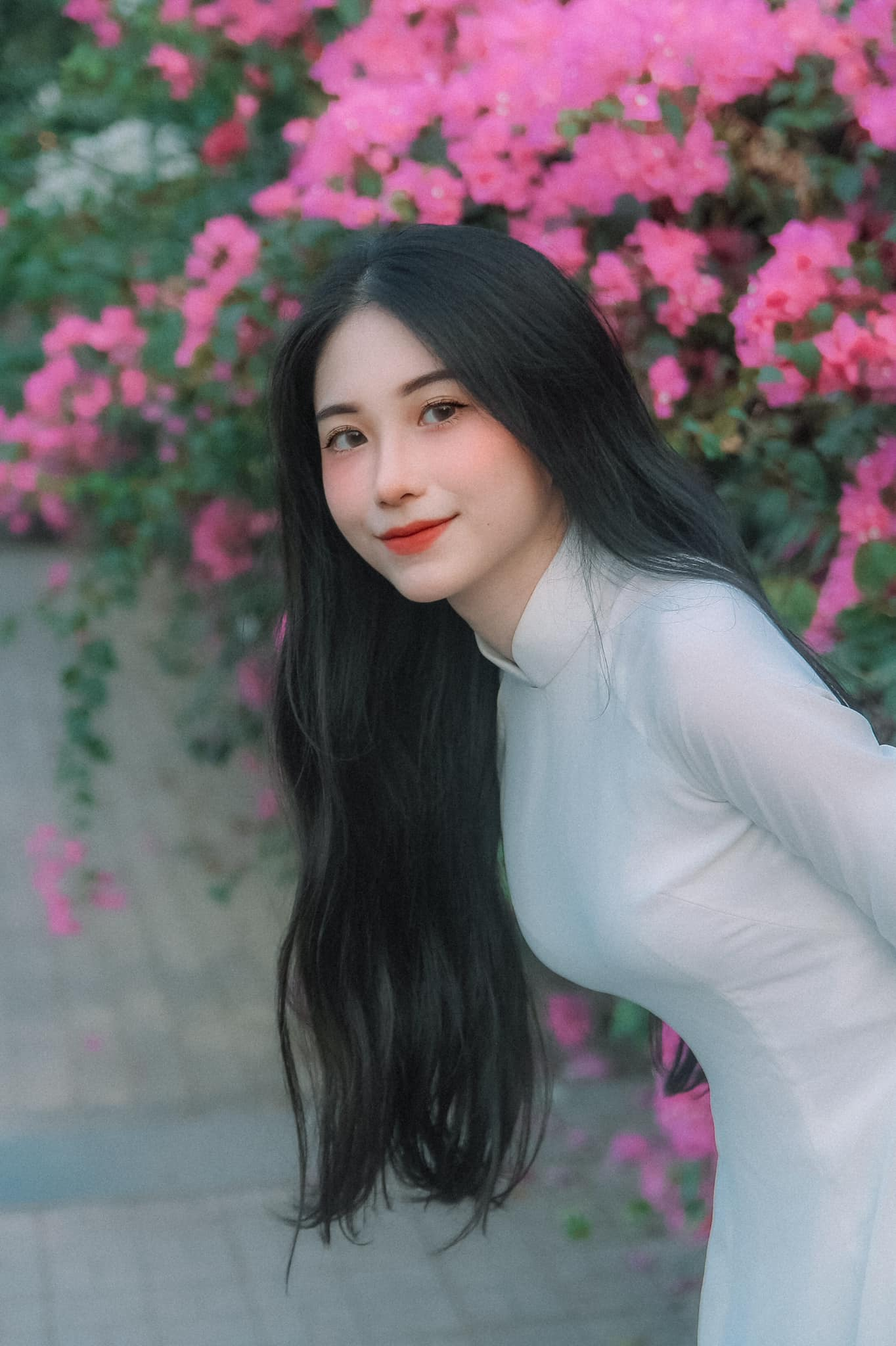 Hot girl Nguyễn Thị Kim Anh xinh xắn và cực dễ thương - 1