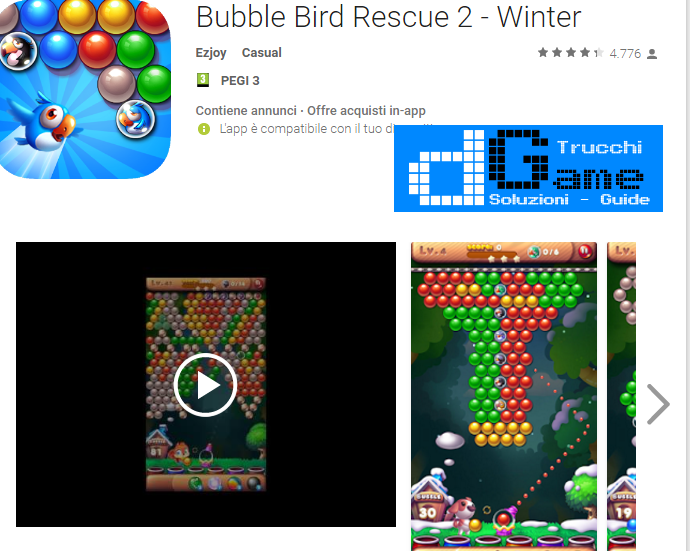 Trucchi Bubble Bird Rescue 2 – Winter Mod Apk Android v1.2.5