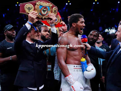 Anthony Joshua Defeats Andre Ruiz In A Rematch Fight (Read Full Details)