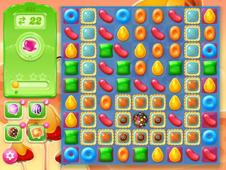 Candy Crush Jelly Saga 521