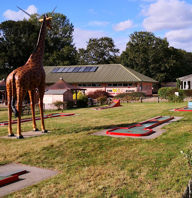 Mini Golf at Africa Alive! in Lowestoft, Suffolk. Photo by Christopher Gottfried, September 2020